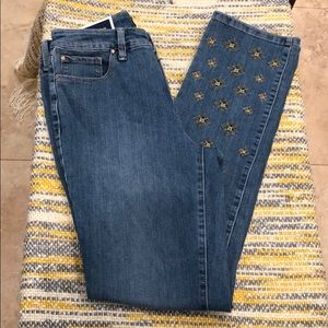 Charter club- straight Leg light blue jeans